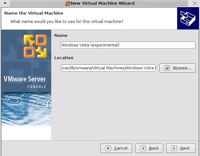 Vmware screenshot3
