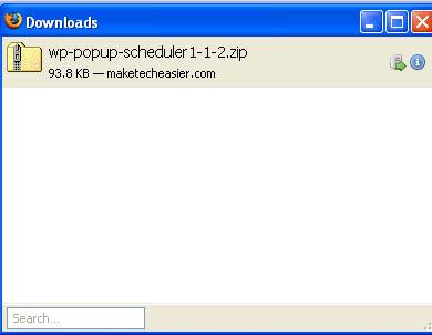 Firefox 3 Beta 2 screenshot - download manager
