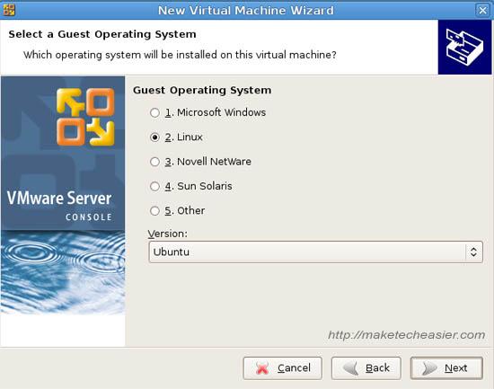 kubuntu vmware 2