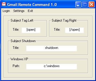 Gmail Remote Command screenshot2