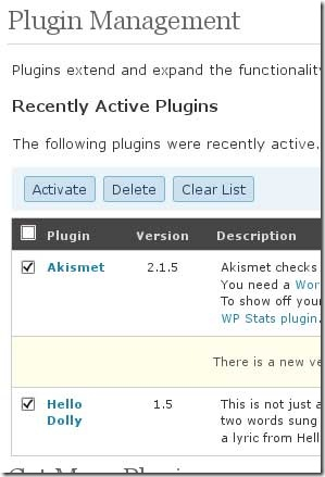 wp-plugins-activation