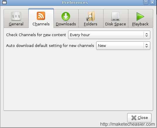 Miro Channel Configuration
