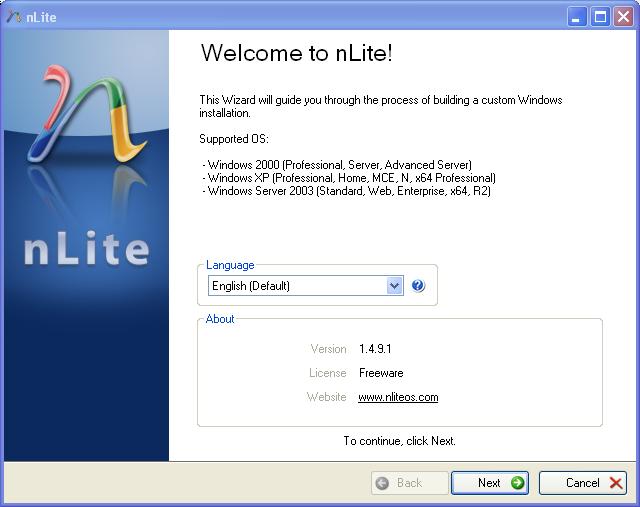 nlite installer