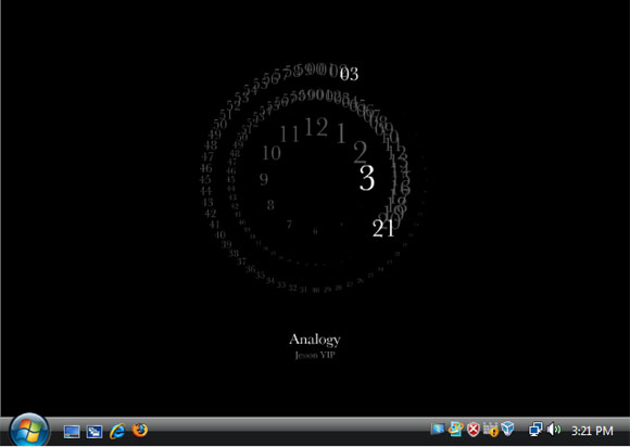 Analogy screensaver for Vista