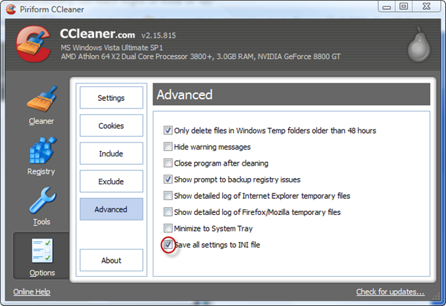 ccleaner how to end task