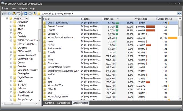 Free Disk Analyzer