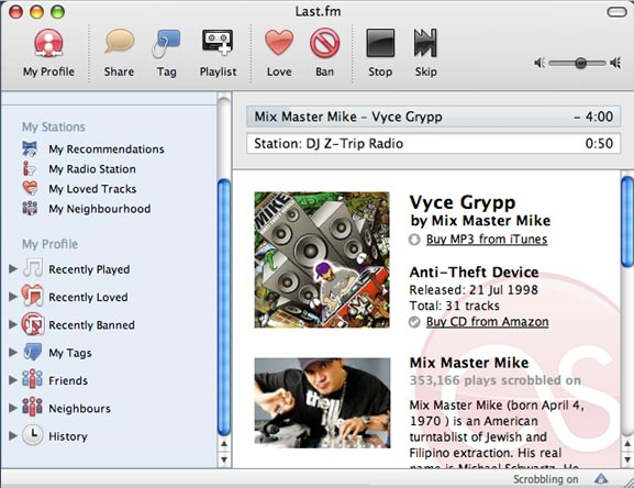 desktop app last.fm