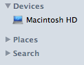 Your Finder Sidebar is no longer yelling at you.