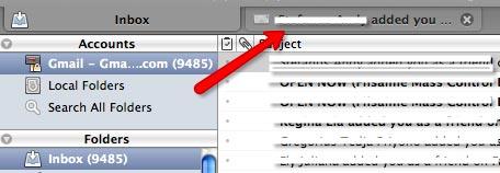 postbox message tab