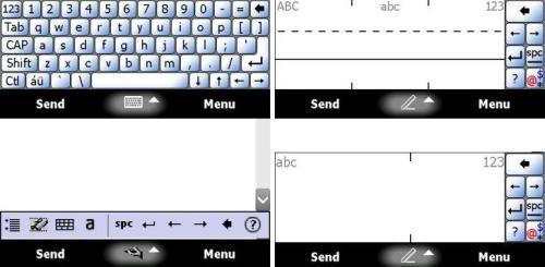 Windows Mobile native software input