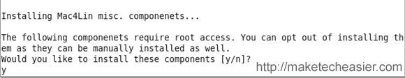 Mac4Lin installer
