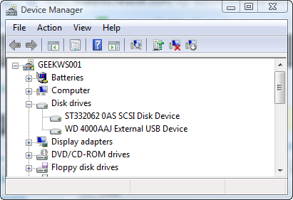usb drive device manager