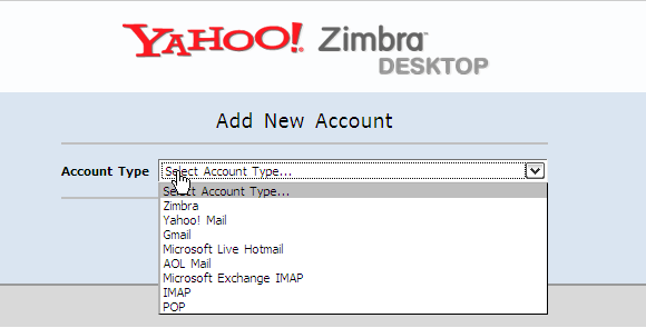 Select Email service provider