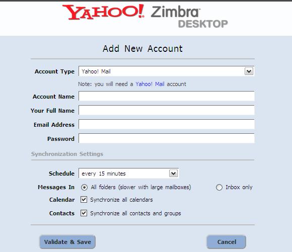 Input Account Details