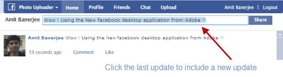 update-facebook-status
