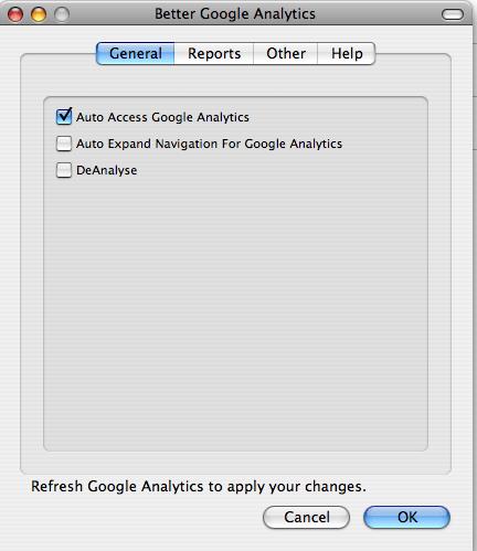 better google analytics general