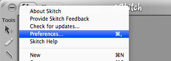 Skitch - Preferences