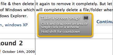 Skitch - Take a ScreenSnap