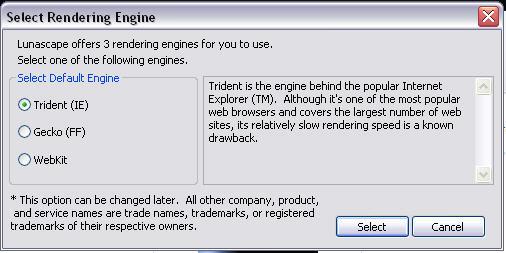 lunascape_rendering_engine