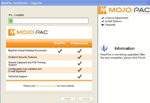 mojopack-install-running1