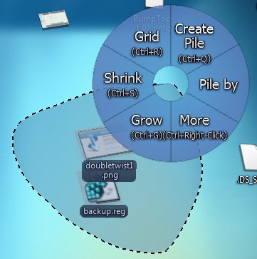 bumptop-create-pile