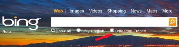 country search-bingfr