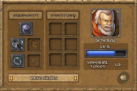 defender chronicles hero inventory