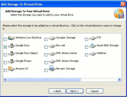 gladinet-virtual-drive-setting