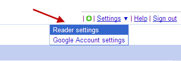 google-reader-click-reader-settings