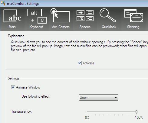 macomfort-quicklook-settings