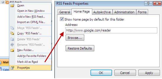 ms-outlook-rss-feed-properties