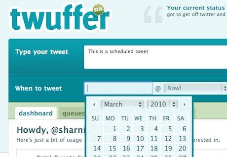 Twuffer - Twitter Scheduler