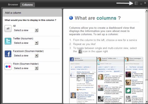 Set columns to read updates in the desktop client
