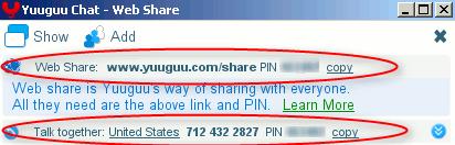 yuuguu - webshare links
