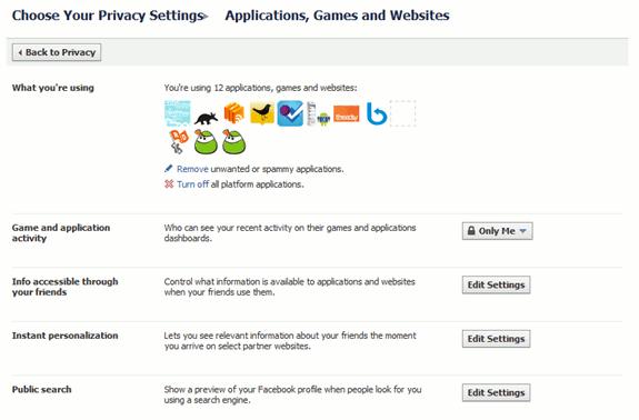 fb- - applications