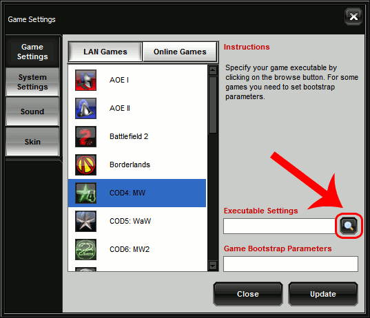 garena-settings