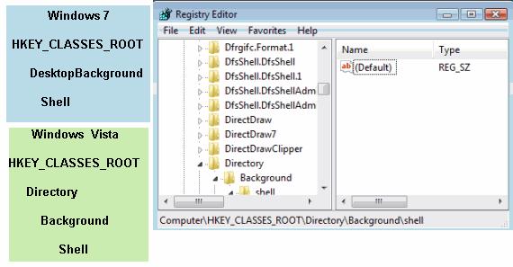 Create registry keys to end programs in Windows