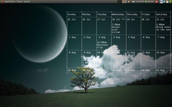 gcalcli-on-desktop