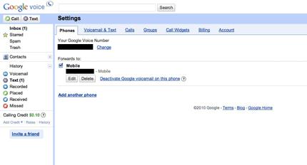 google-voice-web-settings