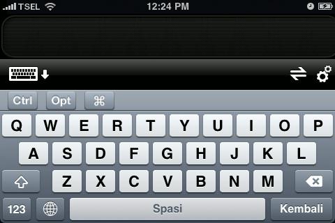 iPhone Remote - Logitech Rotate