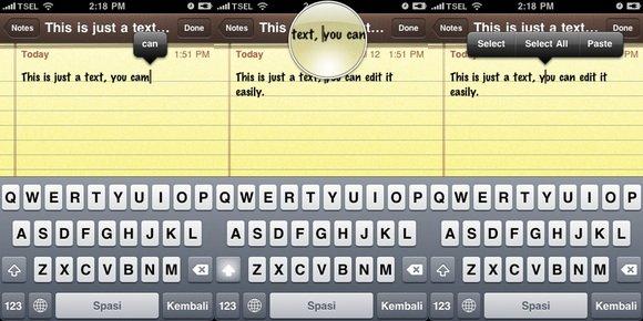 iPhone Shortcuts - Text Editing