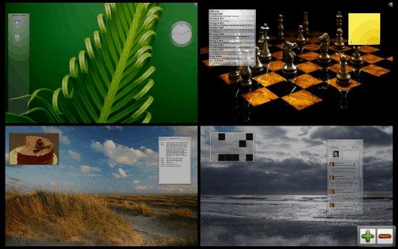 KDE multiple=