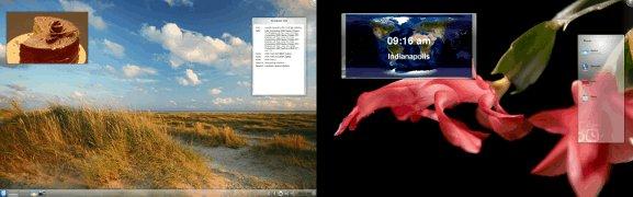 KDE dual screens separate activities