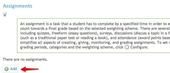 edu20 05a Adding Assignments