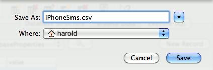 iPhone-Save-CSV-File