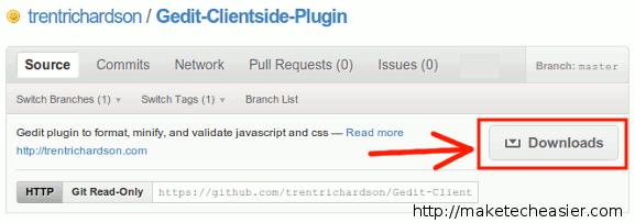 gedit-download-clientside