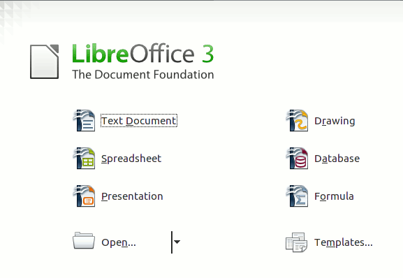 libreoffice-start