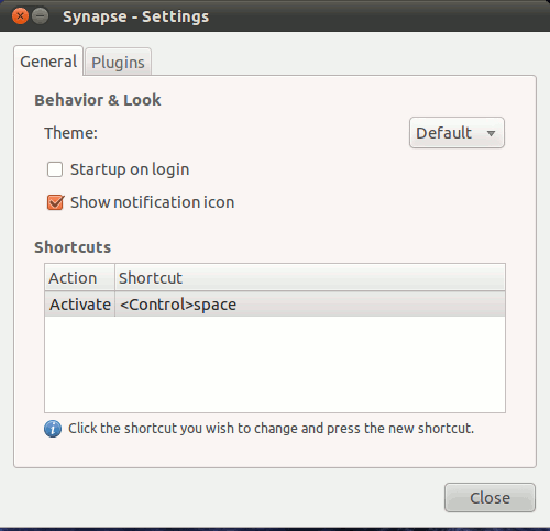 how to change synapse theme
