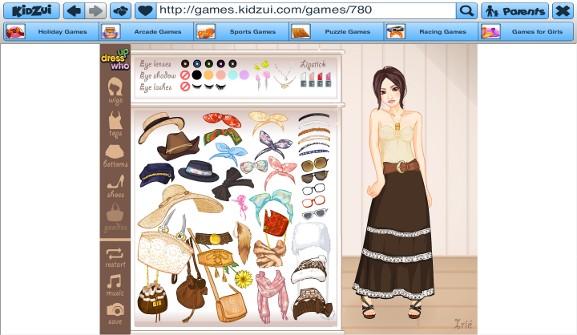 Kidzui Dress up Who game