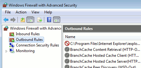 win7firewall-Advanced Security